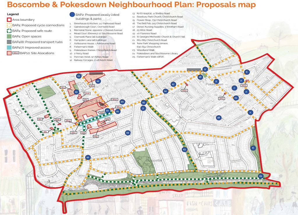 Neighbourhood Plan Proposals Map