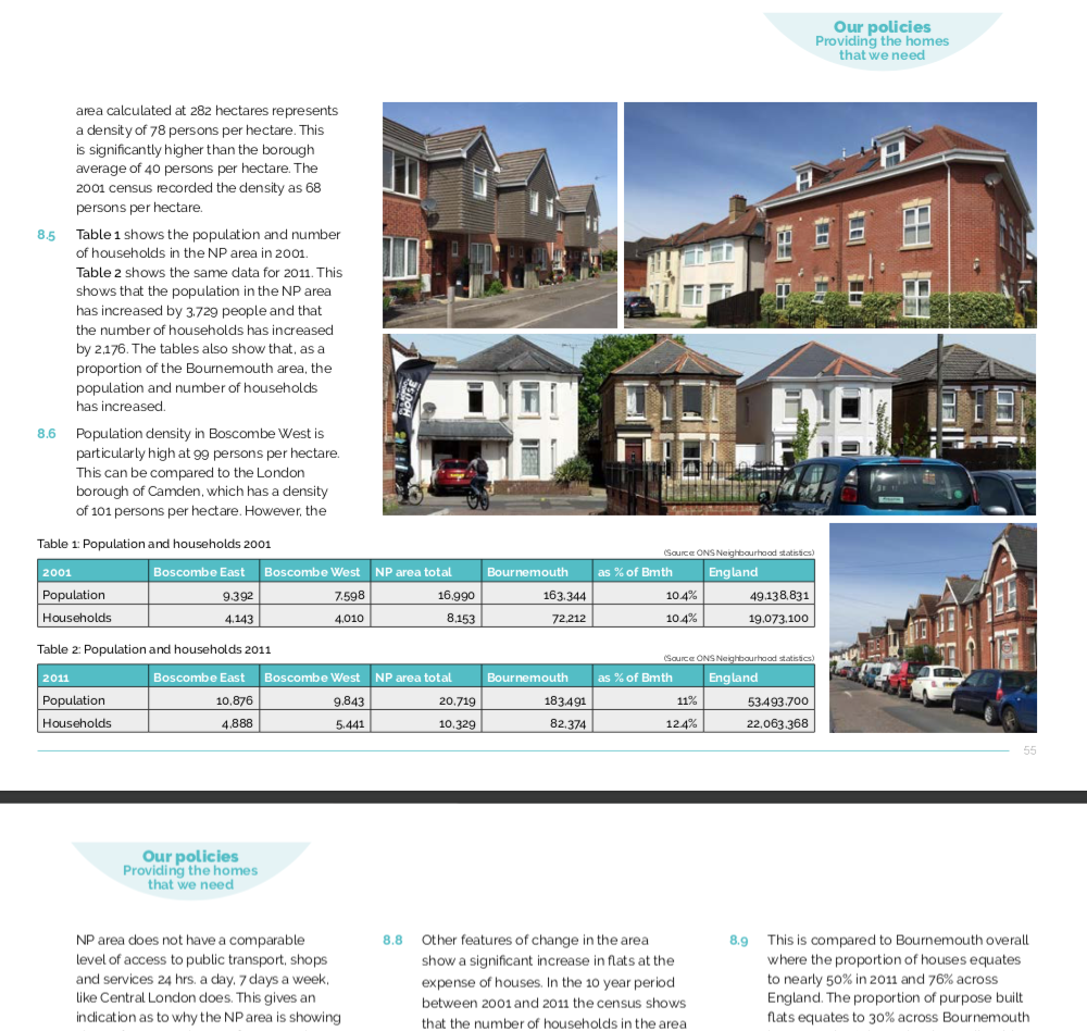 Neighbourhood plan pages